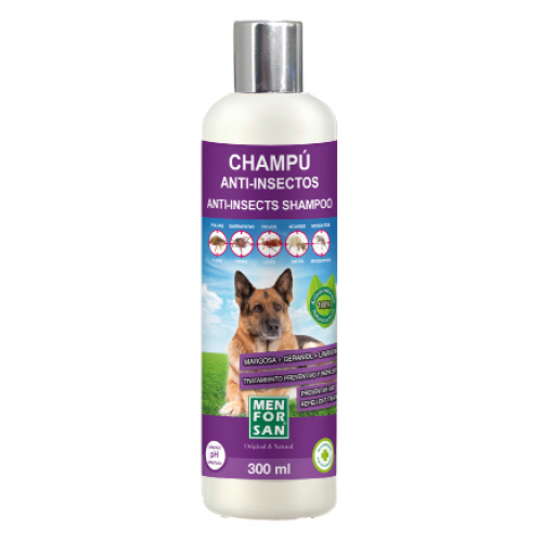 OUTLET MF CHAMPU PERROS ANTI-INSECTOS 300 ML